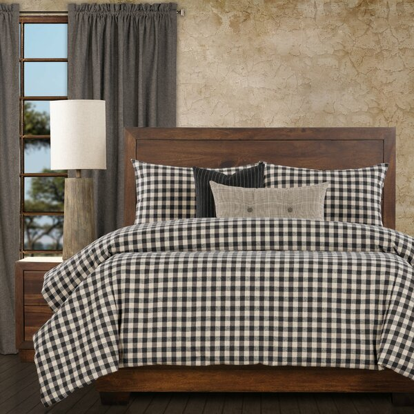 Outdoorsman Checkered Duvet Cover and Insert Set