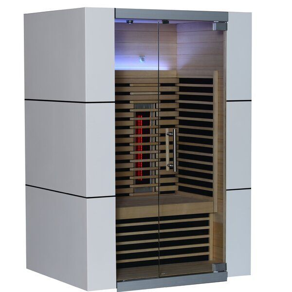 Spectrum 2 Person FAR Infrared Sauna by Almost Heaven Saunas LLC