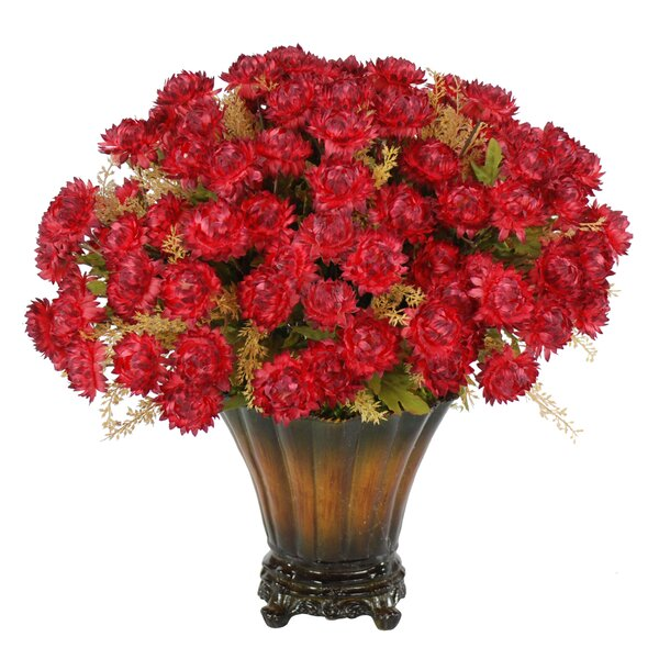 Harvest Strawflower Bouquet by Jane Seymour Botanicals