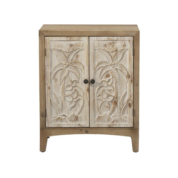 Calixta 2 Door Accent Cabinet by Bungalow Rose