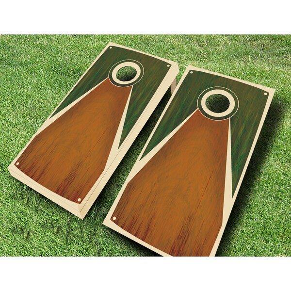 Tarpis Chestnut Stained Cornhole Set by AJJ Cornhole
