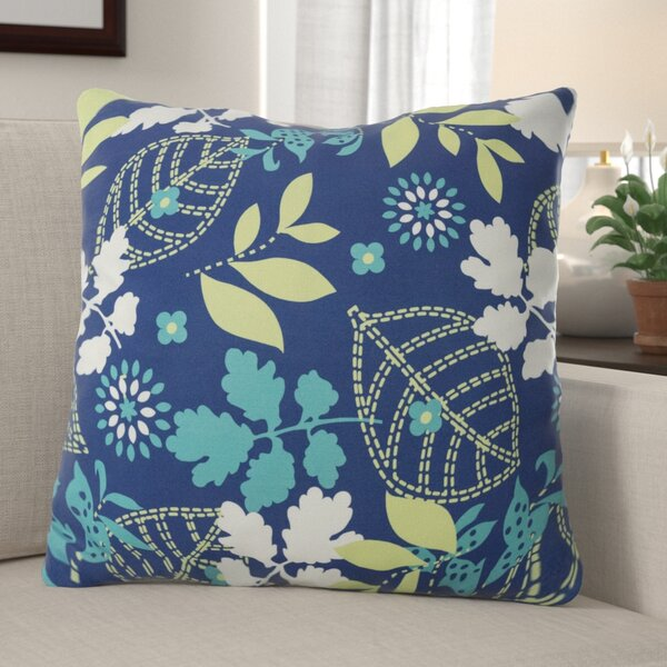Brenneman Leafly Breeze Outdoor Throw Pillow by Winston Porter