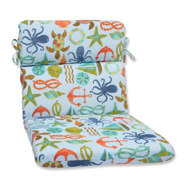 Seapoint Indoor/Outdoor Lounge Chair Cushion by Pillow Perfect