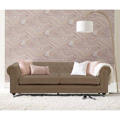 Arm Sofa Velvet Taupe pic