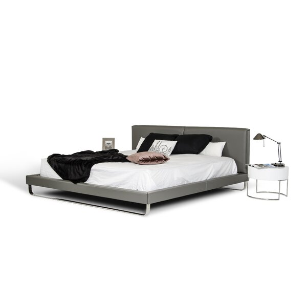 Clower Upholstered Platform Bed by Orren Ellis
