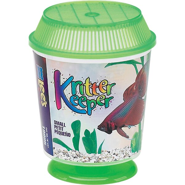 Kritter Keeper Round Fish Home Aquarium Bowl by Lees Aquarium & Pet