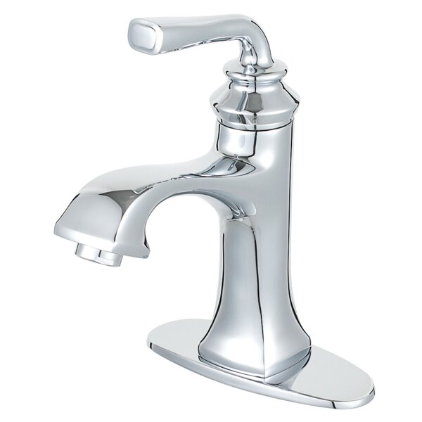 Restoration Single Hole Bathroom Faucet with Drain Assembly
