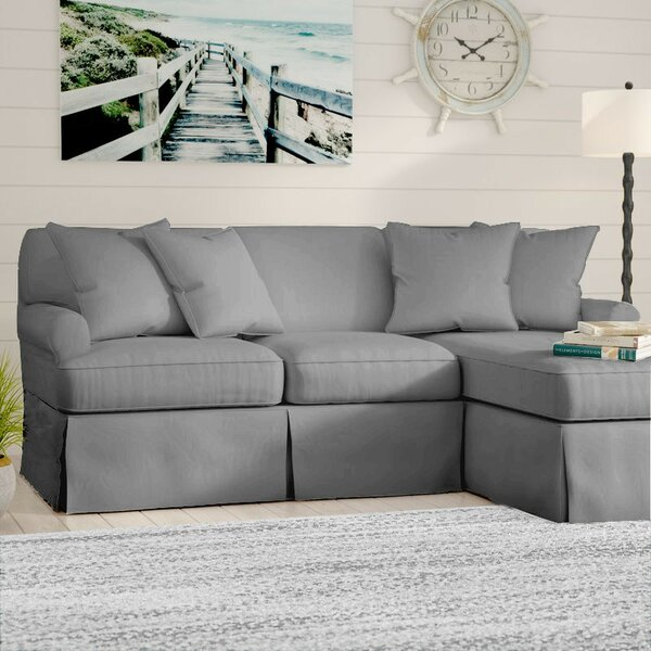 Telluride Sleeper  Sectional With Ottoman by Laurel Foundry Modern Farmhouse