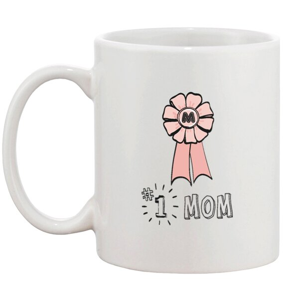 Number 1 Mom Mug by 365 Printing Inc