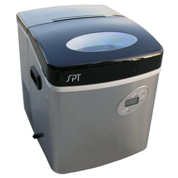 35 lb. Daily Production Portable Ice Maker by Sunpentown