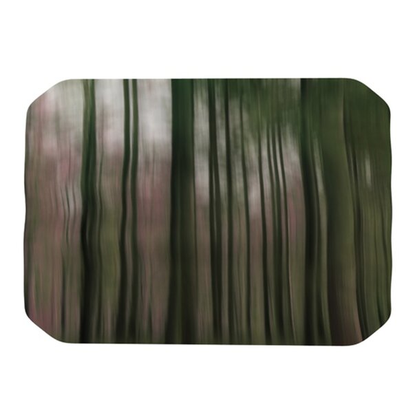 Forest Blur Placemat by KESS InHouse