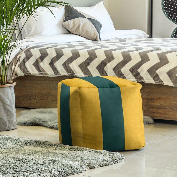 Square Pouf By East Urban Home