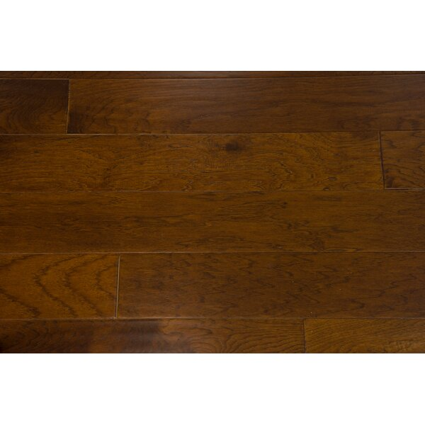 Monaco 5 Engineered Hickory Hardwood Flooring in Toffee by Branton Flooring Collection