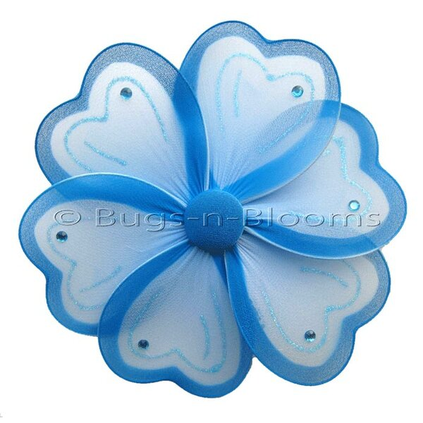 Flower Hanging Painted Nylon 3D Wall Decor by Bugs-n-Blooms