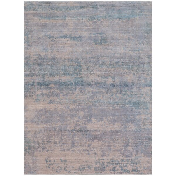Reflections Hand-Woven Light Beige Area Rug by Exquisite Rugs