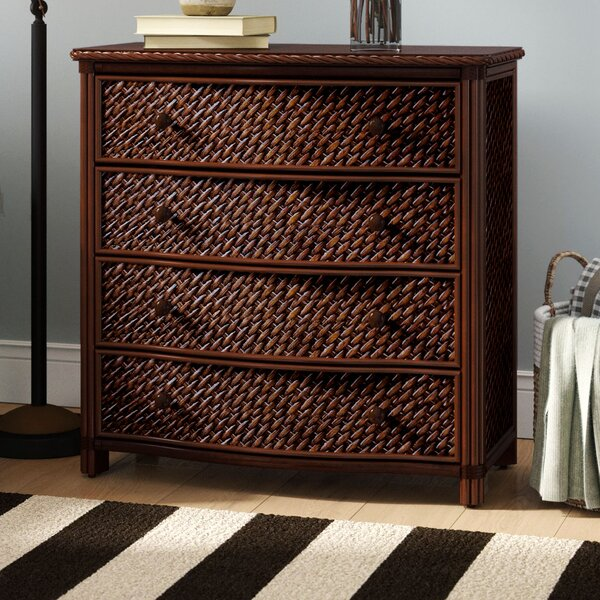 Dessie 4 Drawer Bachelors Chest by Beachcrest Home