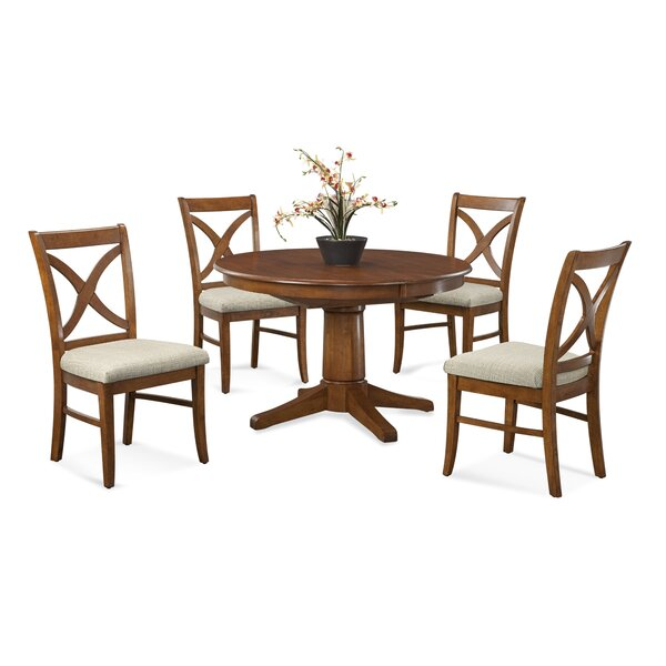 Hues 5 Piece Solid Wood Dining Set by Braxton Culler