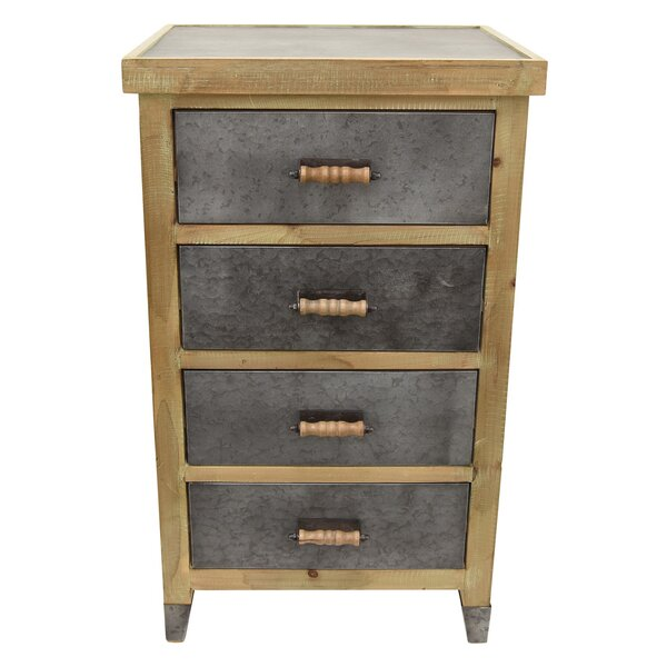 Palmer Square 4 Drawer Accent Chest by Loon Peak