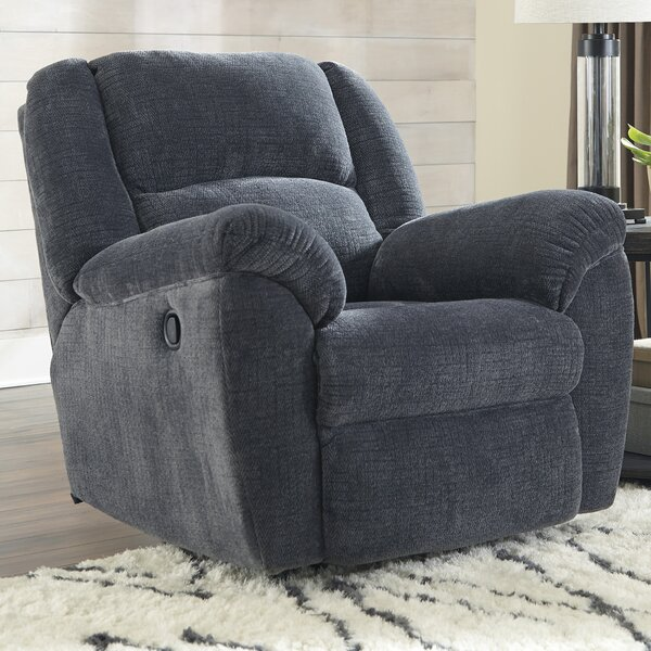 Bosswood Manual Rocker Recliner by Loon Peak