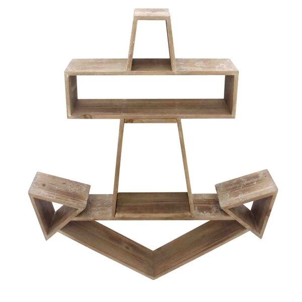 Chartier Wooden Wall Shelf by Longshore Tides