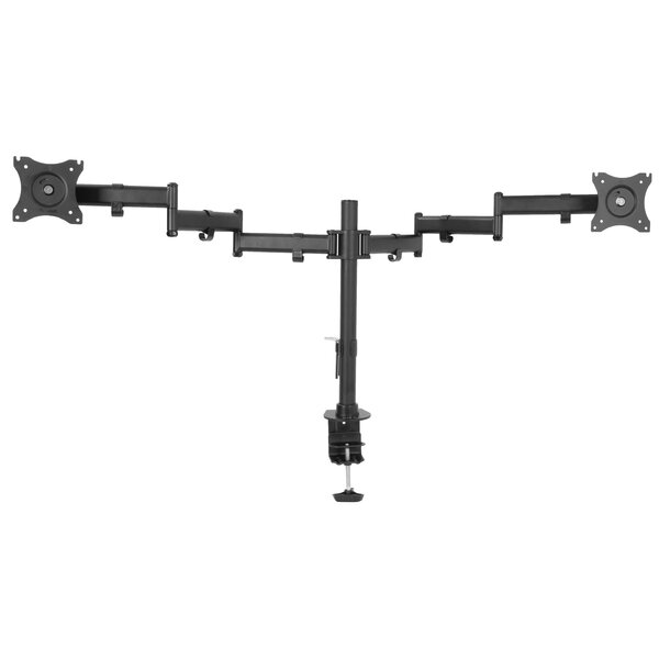 Dual Monitor Extending Arm Pole Mount for 33- 40 LCD Screen by Vivo
