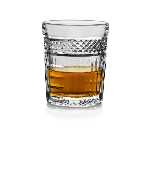 Libbey Radiant 6 Piece Rocks Glass Set by Libbey