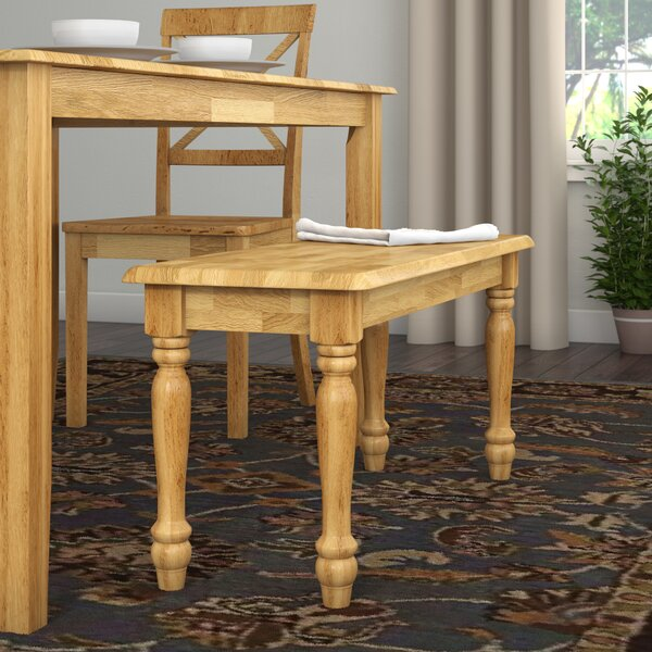 Ridge Wood Bench by Andover Mills
