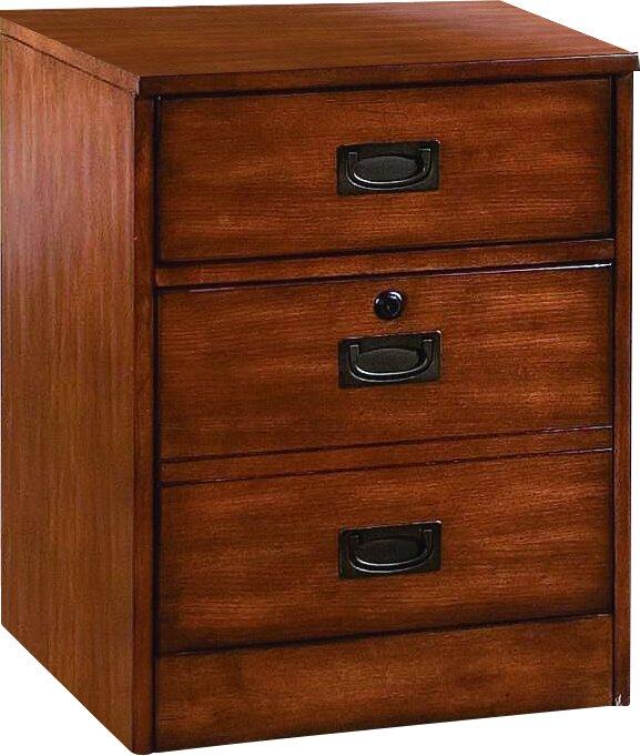 Hooker Furniture Danforth 2 Drawer Vertical Filing Cabinet