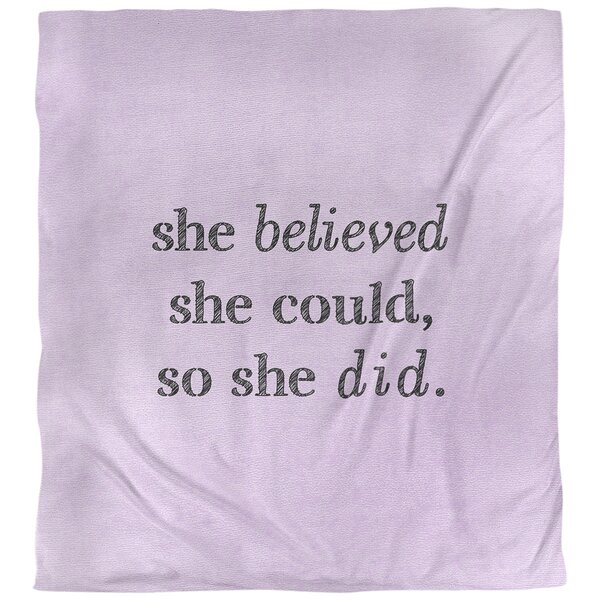 Women Empowerment Quote Single Duvet Cover