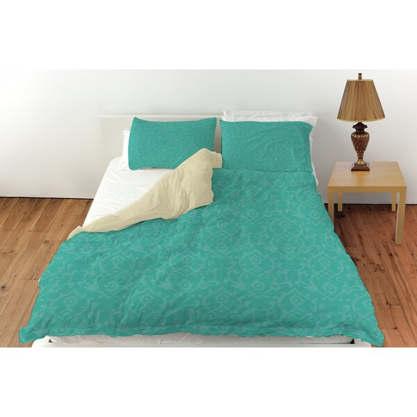 Flowing Damask Duvet Cover Collection