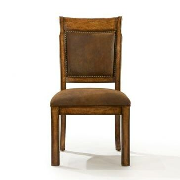 Rangel Upholstered Dining Chair In Burnished Caramel (Set Of 2) By Darby Home Co