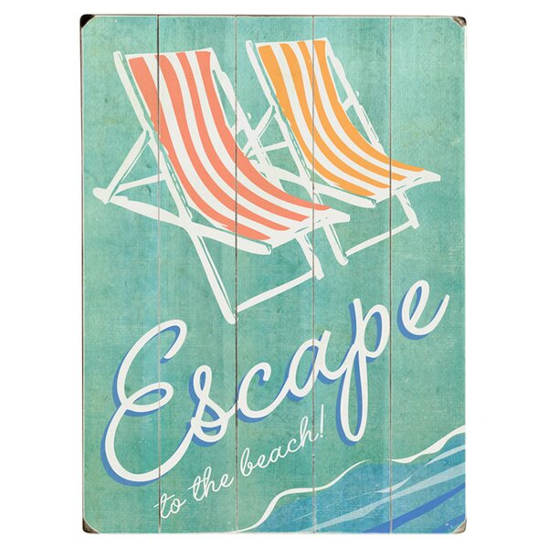 Escape Graphic Art Print Multi-Piece Image on Wood by Artehouse LLC