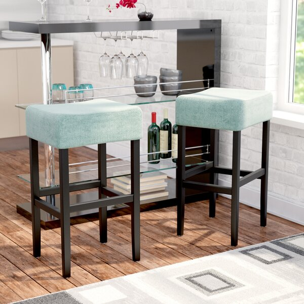 Gabriel 30 Bar Stool (Set of 2) by Zipcode Design