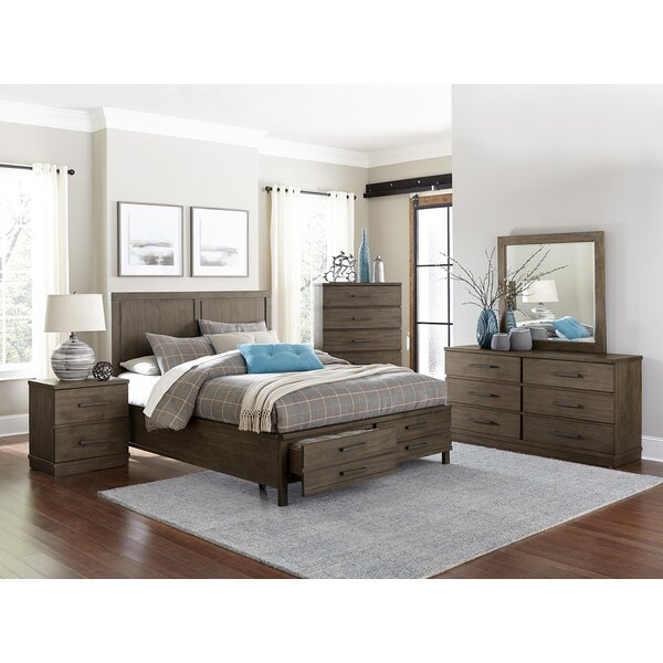 Kirkby Queen Platform Configurable Bedroom Set by Three Posts