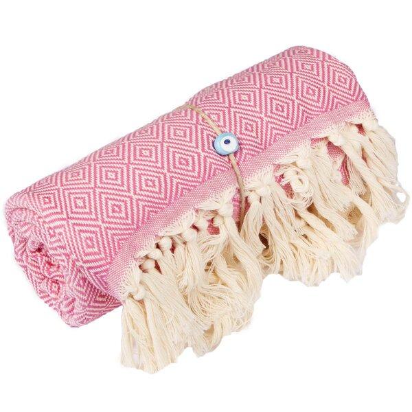 Longford Diamond Turkish Cotton Beach Towel by Lan