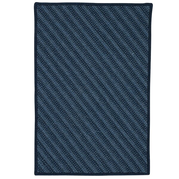 Ommegang Hand-Woven Navy Area Rug by Red Barrel Studio