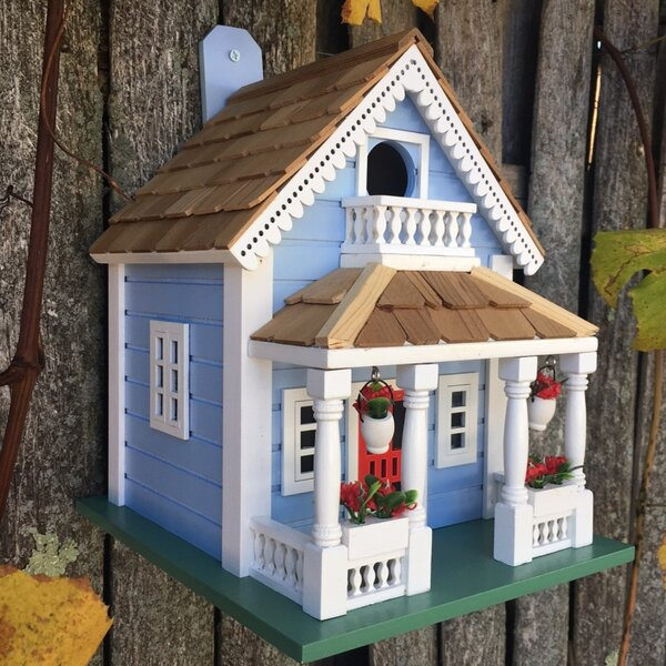 Fledgling Series Orleans 10 in x 8 in x 9 in Birdhouse by Home Bazaar