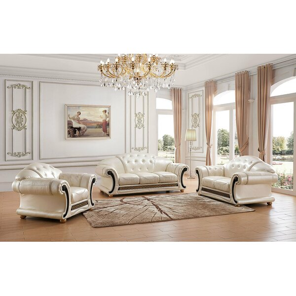 Juliana 3 Piece Living Room Set by Astoria Grand