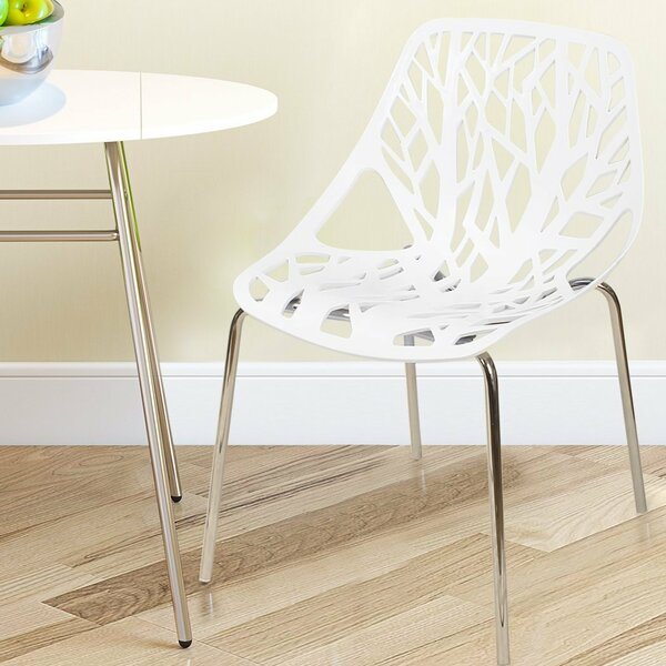 Stacking Dining Side Chair (Set of 2) by Adeco Trading