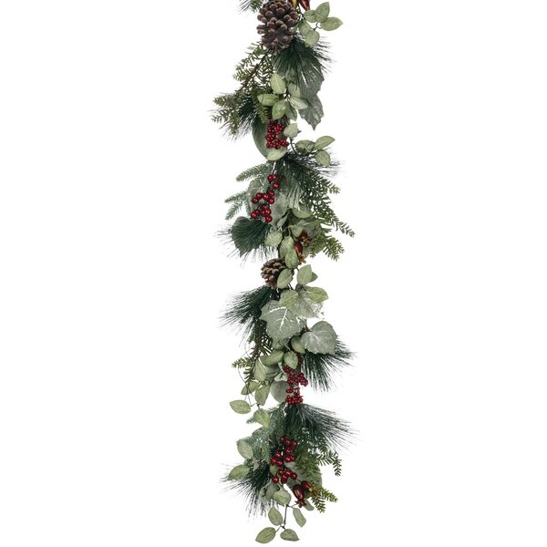 Festive Foliage Pine Garland by Lark Manor