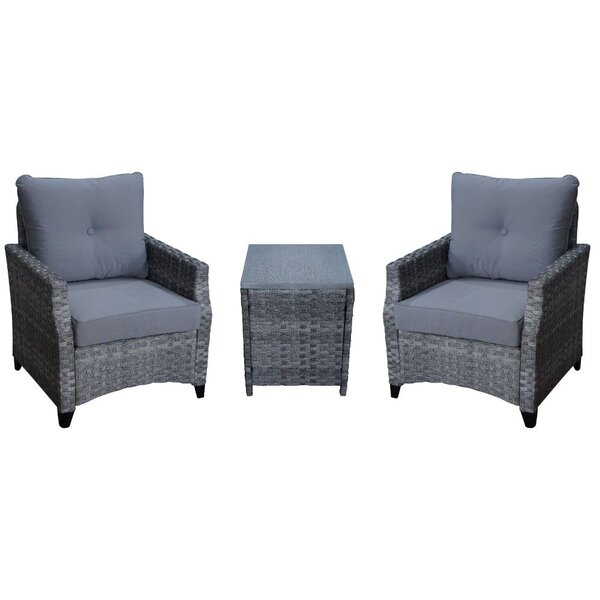 Weinmann Courtyard Casual Rattan Seating Group with Cushions