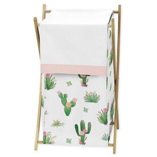 Cactus Floral Laundry Hamper BySweet Jojo Designs