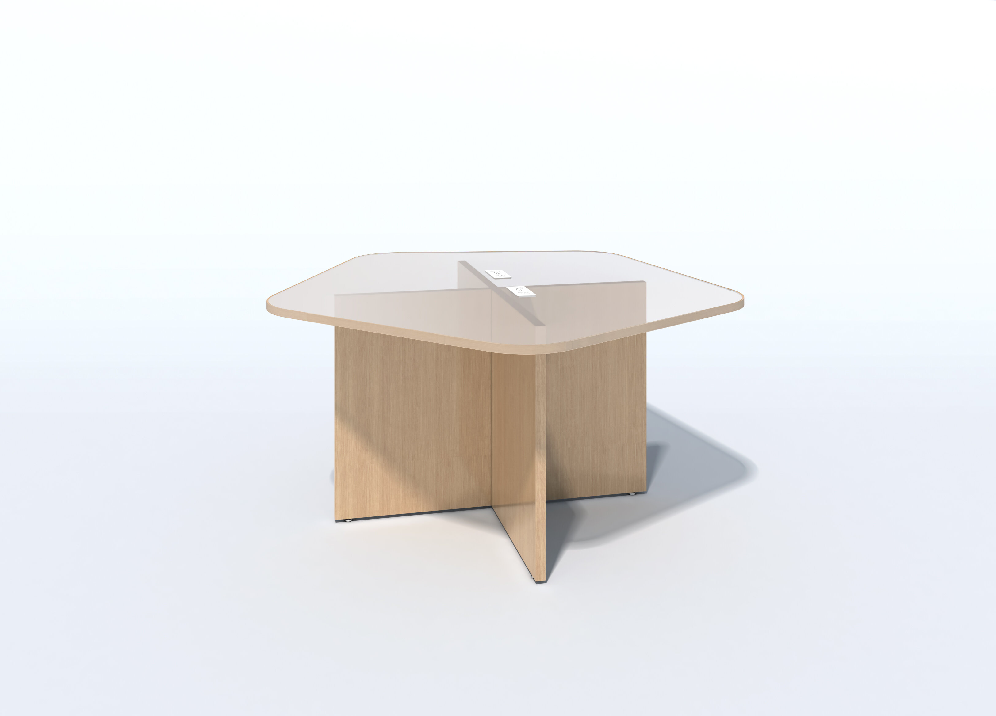 In2 Design Octagonal Conference Table Wayfair