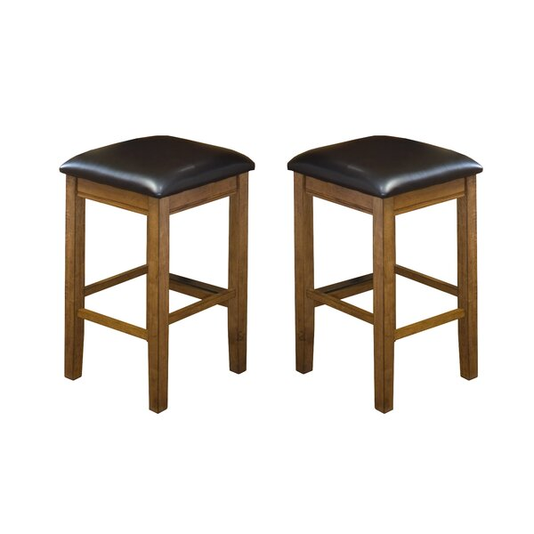 Tesch 24 Bar Stool (Set of 2) by Union Rustic