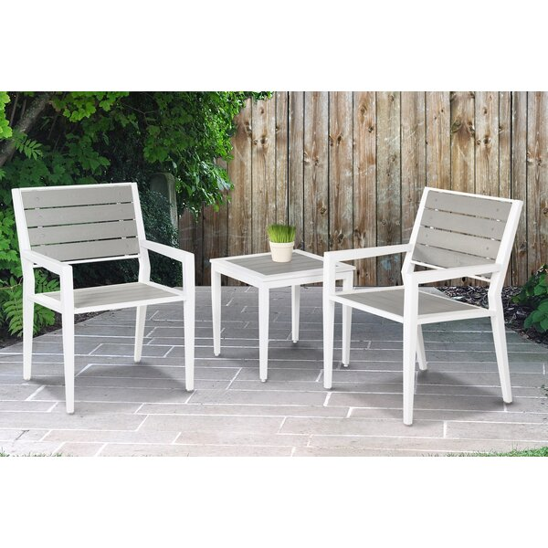 Gouveia 3 Piece Seating Group by Latitude Run