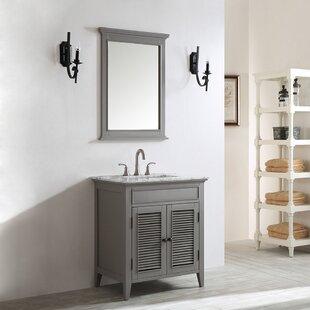 Grovetown 31 Single Bathroom Vanity Set with Mirror ByLaurel Foundry Modern Farmhouse