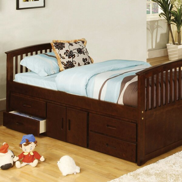 St. Nicholas Storage Twin Platform Bed with Drawers by Harriet Bee
