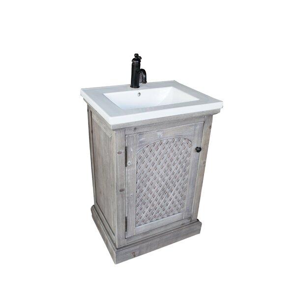 Lovejoy 24 Single Sink Bathroom Vanity Set by Ophelia & Co.