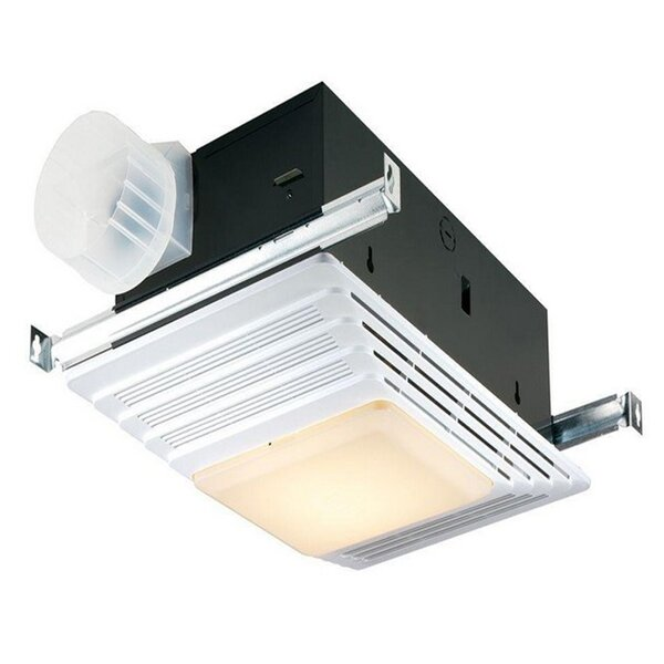 70 CFM Bathroom Fan With Light by Broan