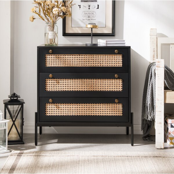 Sigmund 3 Drawer Accent Chest By Bay Isle Home